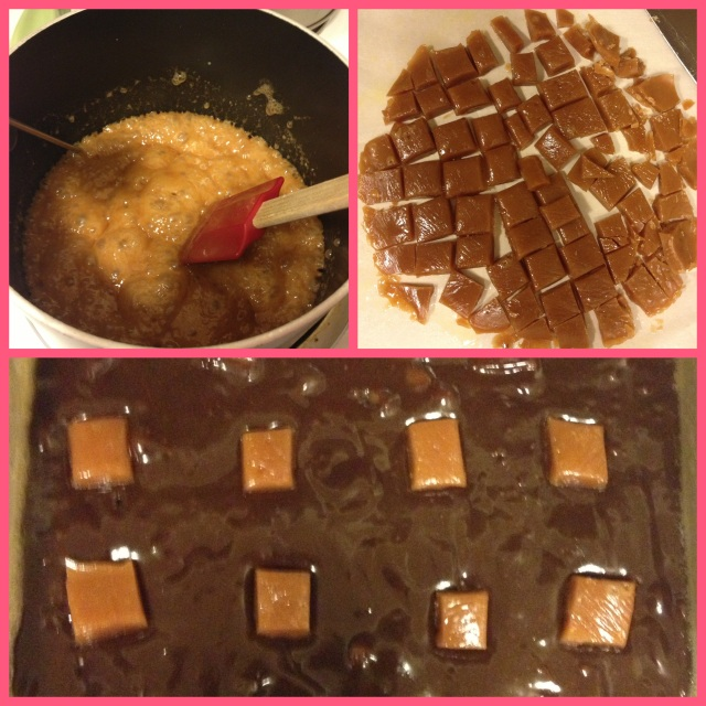Homemade caramel, yum yum