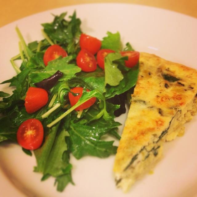 Leek And Swiss Chard Tart Recipe — Dishmaps