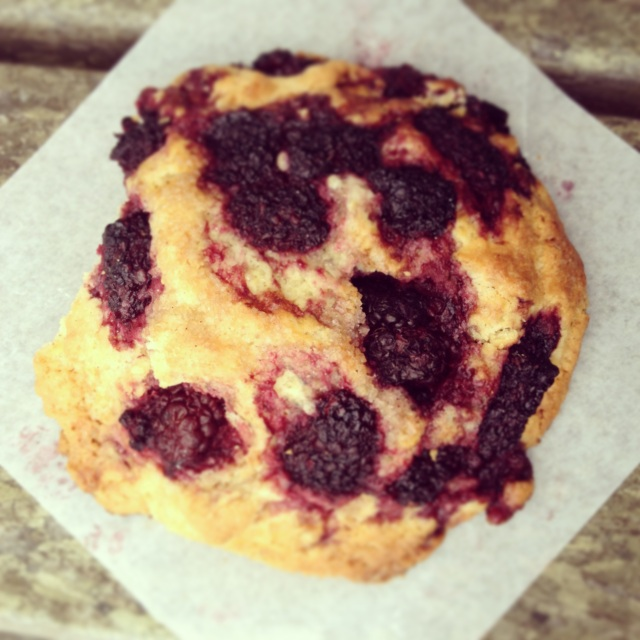 Marionberry scone - my very favorite bakery treat of all time