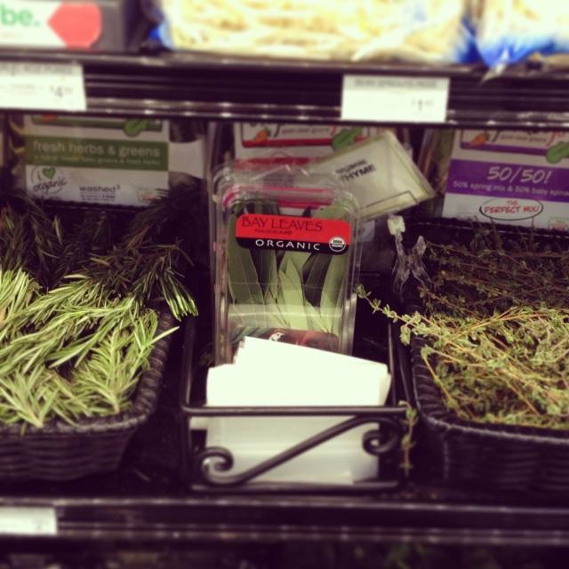 Bulk herbs, my new favorite thing!