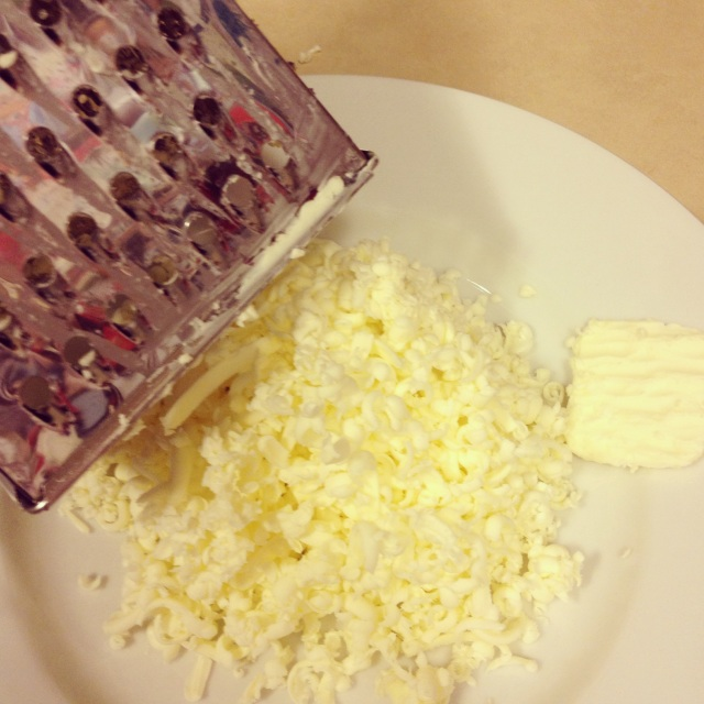 Grated butter - weird/awesome