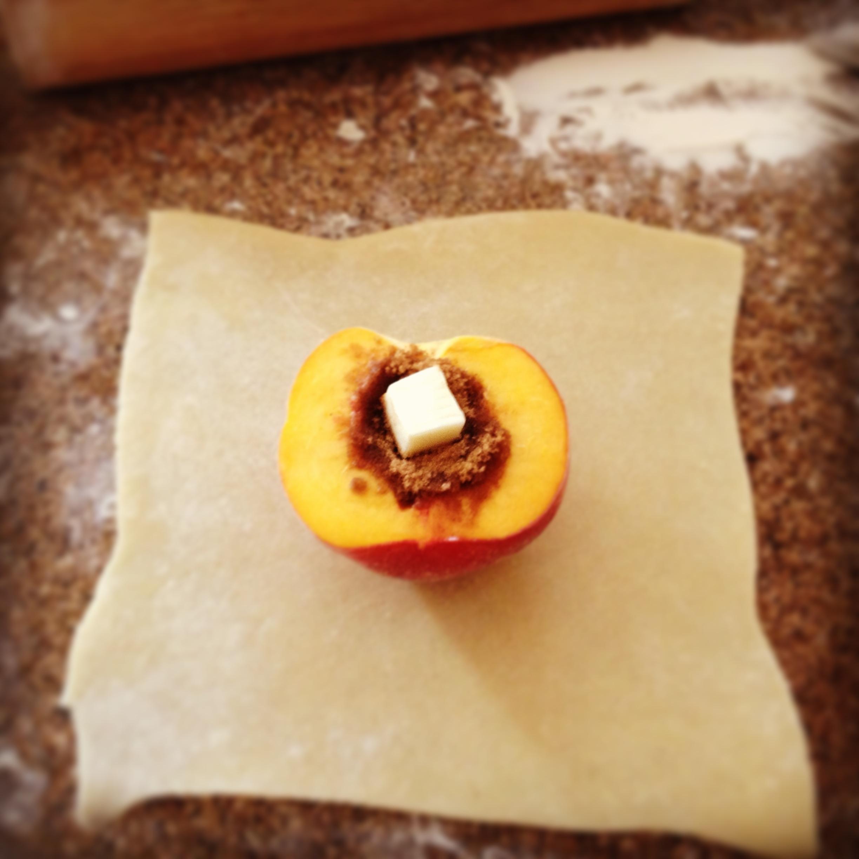 Smitten Kitchen\'s Peach Dumplings with Bourbon Hard Sauce ...