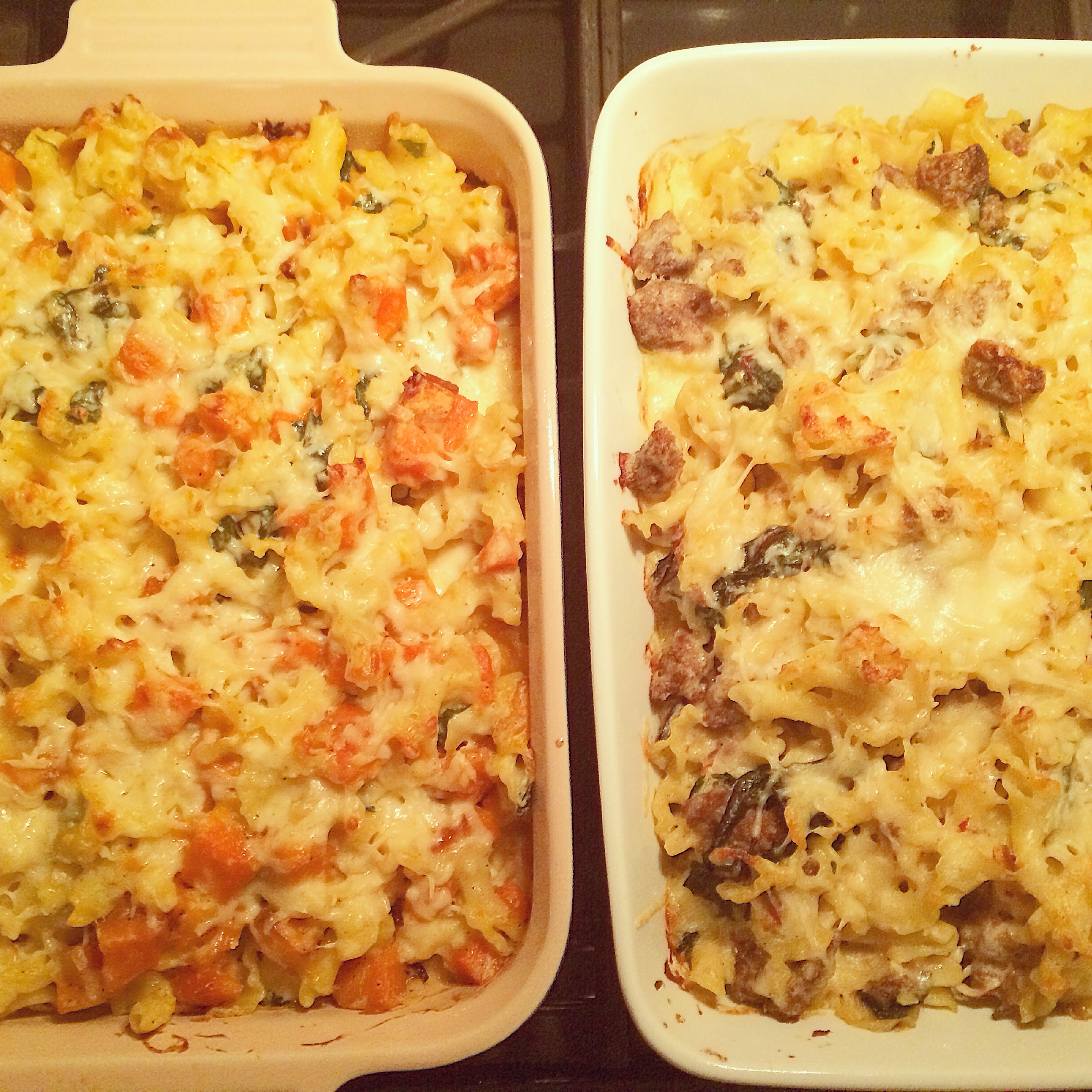 Baked Pasta With Sausage And Broccoli Rabe Blueberries Basil