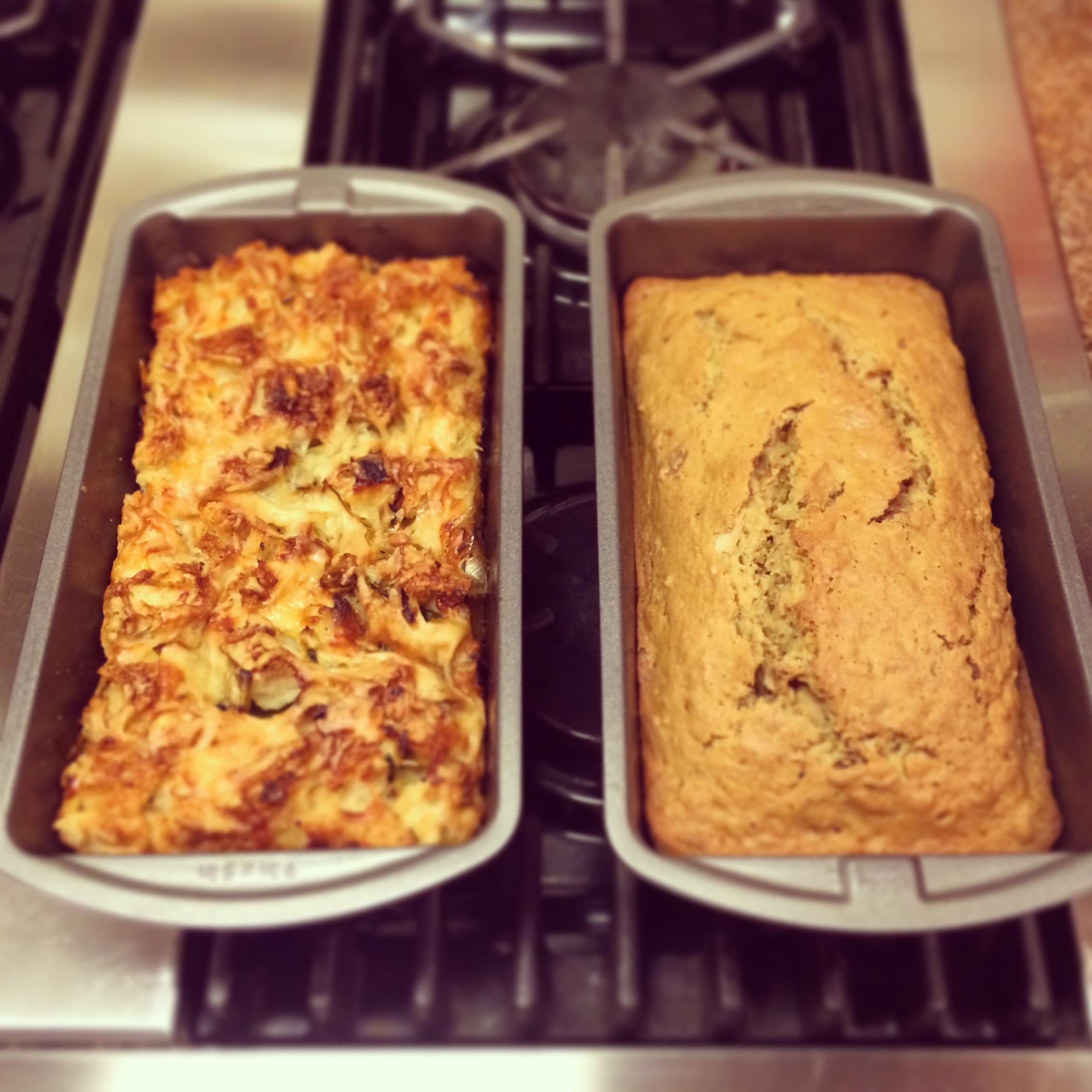 Smitten Kitchen Leek Bread Pudding | Blueberries & Basil