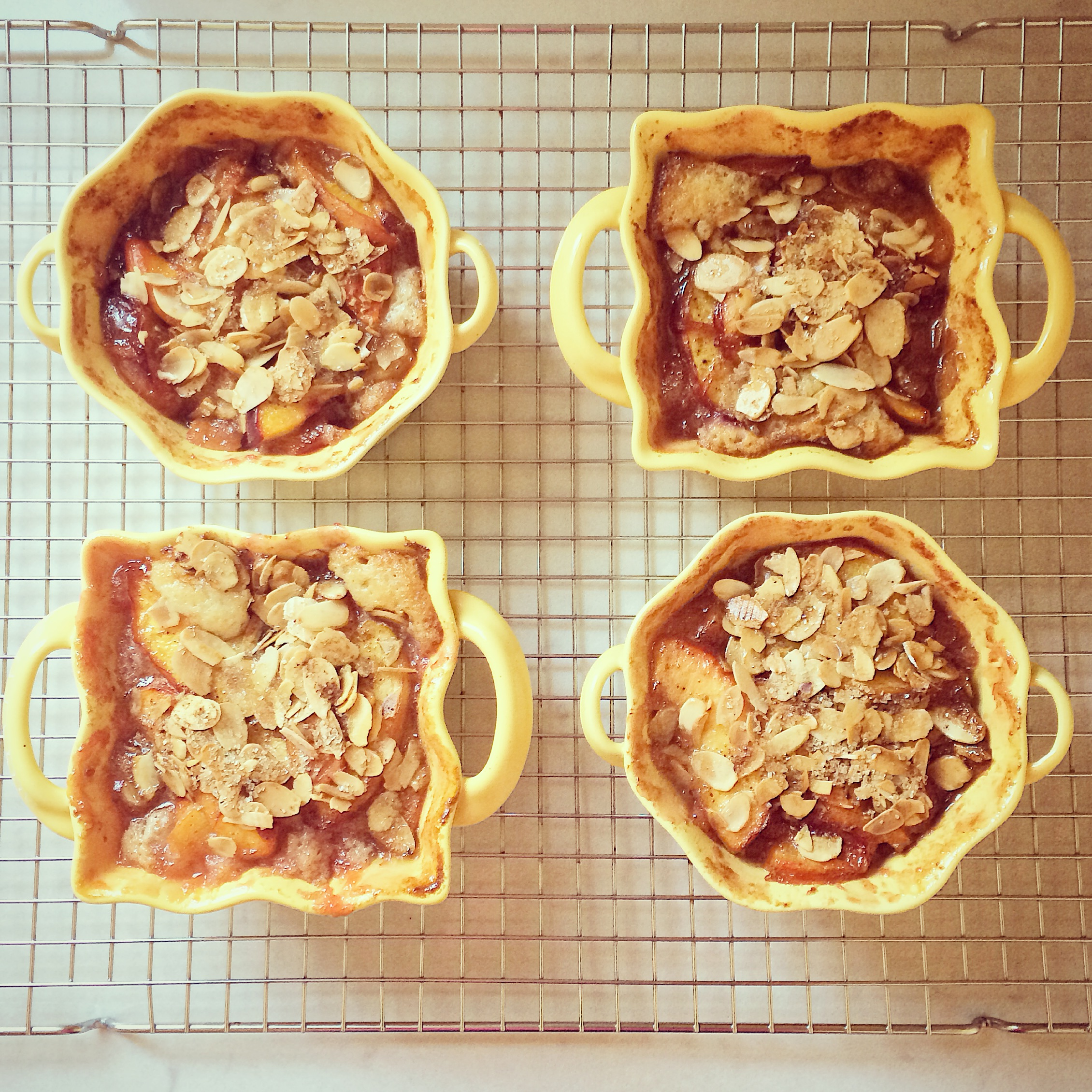 Nectarine Brown Butter Buckle Recipe — Dishmaps